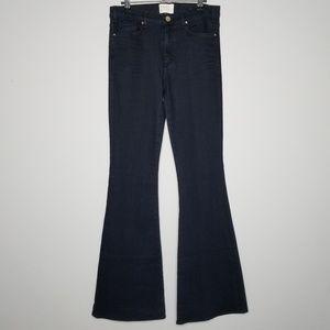 McGuire Denim | High Rise Flare Wide Leg Jeans
